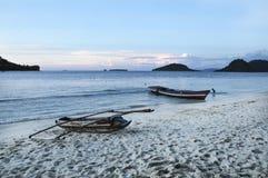 Spiaggia tropicale - Langkawi Immagini Stock