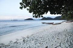 Spiaggia tropicale - Langkawi Fotografie Stock
