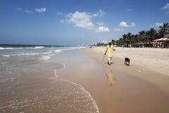 Spiaggia tropicale - Langkawi Fotografia Stock