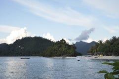Spiaggia tropicale - Langkawi Fotografie Stock Libere da Diritti