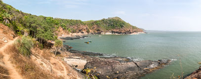 Spiaggia tropicale - Langkawi Vista di oceano Fotografia Stock Libera da Diritti