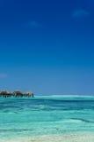 Spiaggia tropicale Maldies Fotografia Stock Libera da Diritti