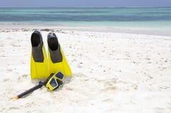 spiaggia tropicale maldives Fotografia Stock Libera da Diritti