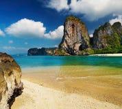 Spiaggia tropicale, mare di Andaman, Tailandia fotografia stock