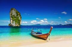 Spiaggia tropicale, mare di Andaman, Tailandia Fotografie Stock Libere da Diritti