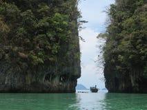 Spiaggia tropicale, mare di Andaman, Tailandia Fotografia Stock Libera da Diritti
