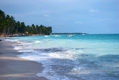 Spiaggia tropicale nel Brasile Fotografia Stock Libera da Diritti