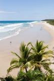 Spiaggia tropicale pittoresca Fotografia Stock Libera da Diritti