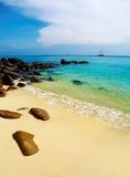 Spiaggia tropicale, Tailandia Fotografie Stock