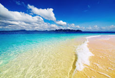 Spiaggia tropicale, Tailandia Fotografia Stock