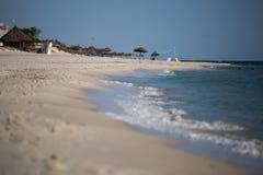 Spiaggia in Tunisia Immagine Stock