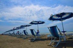 Spiaggia turistica Immagine Stock Libera da Diritti