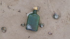 Spiaggia ubriaca Immagini Stock Libere da Diritti