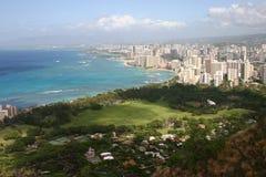 Spiaggia una di Waikiki Fotografia Stock