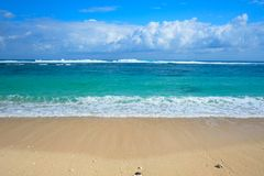 Spiaggia Ungasan di Melasti Bali, Indonesia fotografia stock libera da diritti