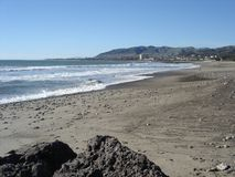 Spiaggia in Ventura, CA Immagini Stock Libere da Diritti