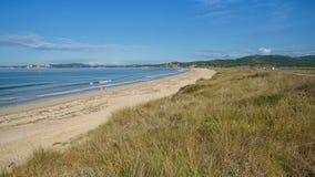 Spiaggia vicino al boschetto della O, Galizia, Spagna Immagine Stock
