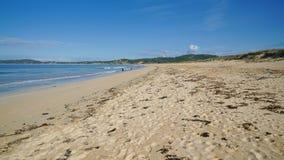 Spiaggia vicino al boschetto della O, Galizia, Spagna Immagine Stock Libera da Diritti