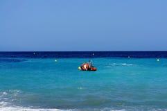 Spiaggia vicino alla baia di Altea Immagine Stock