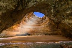 Spiaggia vicino a Lagos - Algarve Portogallo Fotografia Stock Libera da Diritti