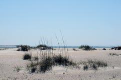 Spiaggia vicino a Morehead, Nord Carolina Fotografia Stock Libera da Diritti
