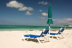 Spiaggia vuota Immagine Stock