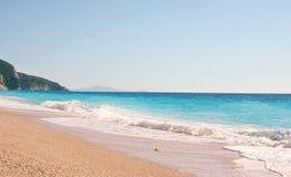 Spiaggia vuota Immagini Stock