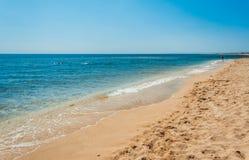 Spiaggia vuota Fotografia Stock