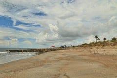 Spiaggia vuota Fotografie Stock Libere da Diritti