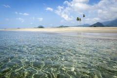 Spiaggia vuota nell'Aceh, Indonesia Fotografie Stock