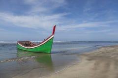 Spiaggia vuota nell'Aceh, Indonesia Fotografie Stock Libere da Diritti