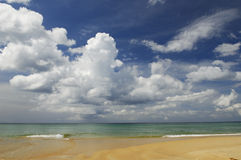 Spiaggia vuota in Tailandia Fotografia Stock