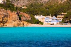 Spiaggia Xabia di Javea Cala Granadella in Alicante Spagna Fotografie Stock