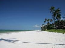 Spiaggia a Zanzibar Fotografia Stock Libera da Diritti
