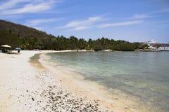 Spiaggia Zihuatanejo, m. di Los Gatos Fotografia Stock Libera da Diritti
