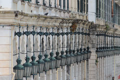 Spianada Square architecture detail royalty free stock image