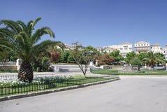 Spianada Square in the capital of Corfu Stock Photos