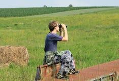 Spiando in natura fotografia stock