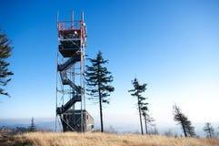 spicak ruprechticky wieża obserwacyjna Zdjęcia Royalty Free