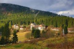 Spicak, Zelezna Ruda, Markt Eissenstein, Park Sumava, Boehmerwald, Czech Republic Royalty Free Stock Image