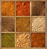 Spice собрание Стоковые Изображения RF
