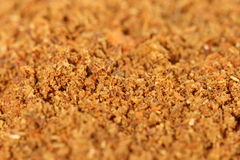 Spice. Macro photo of brown spice royalty free stock images