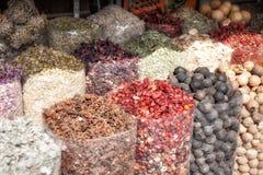 Spice. S in Dubai Market Souk Stock Photography