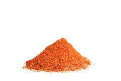 Spice. The red spice on white background, the grain of taste Royalty Free Stock Images
