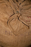 Spice. Sack of spice in a storehouse Royalty Free Stock Photos