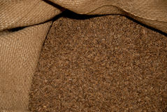 Spice. Sack of spice in a storehouse Royalty Free Stock Photography