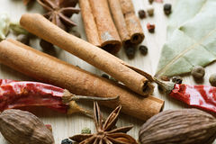 Spice Background Royalty Free Stock Image
