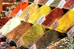 Spice Bazaar Royalty Free Stock Images