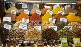 Spice Bazaar Stock Images