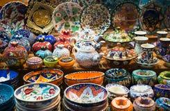 Spice Bazaar Royalty Free Stock Photos